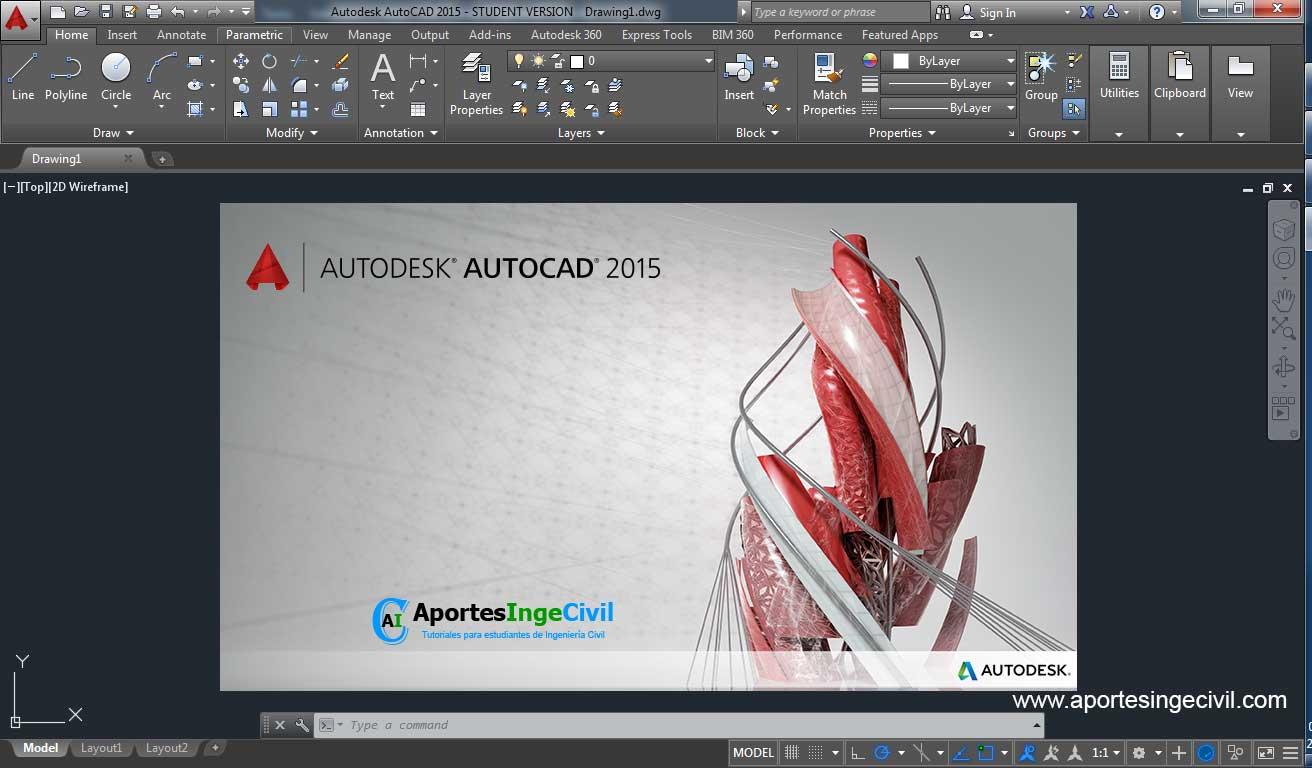 Descargar e instalar AutoCAD 2015