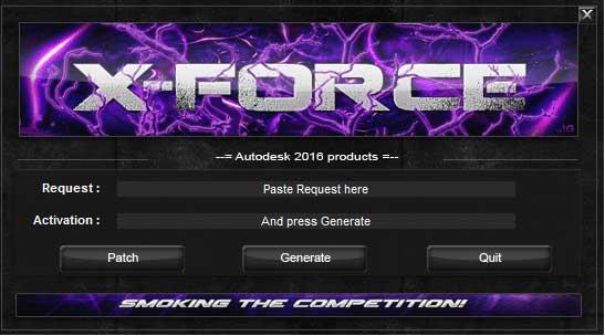 Activar AutoCAD 2016 X-Force 2016