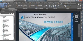 Descargar Autocad Civil 3D 2016