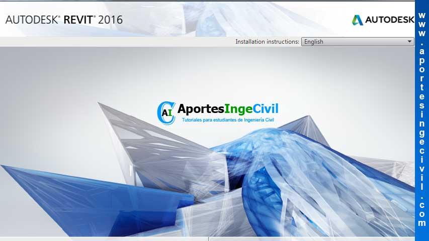Descargar Autodesk Revit 2016