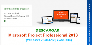 Descargar e instalar project 2013