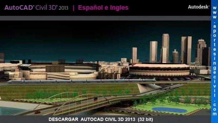 Descargar AutoCAD Civil 3D 2013