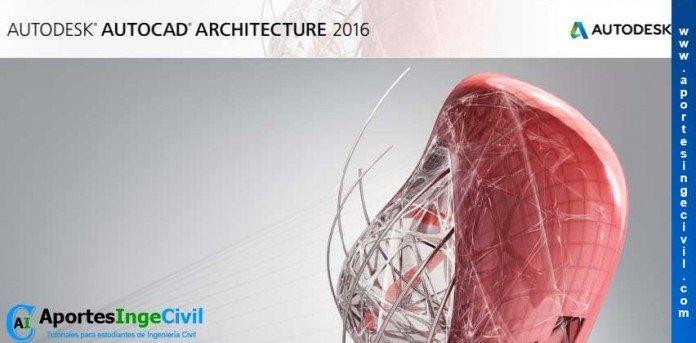 Descargar AutoCAD Architecture 2016