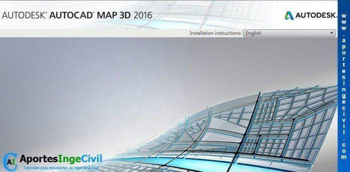 Descargar AutoCAD Map 3D 2016