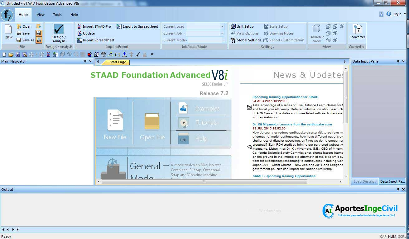 Descargar Staad Foundation Advanced