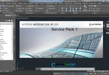 Descargar AutoCAD Civil 3D Service Pack 1