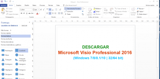Descargar Microsoft Visio Professional 2016