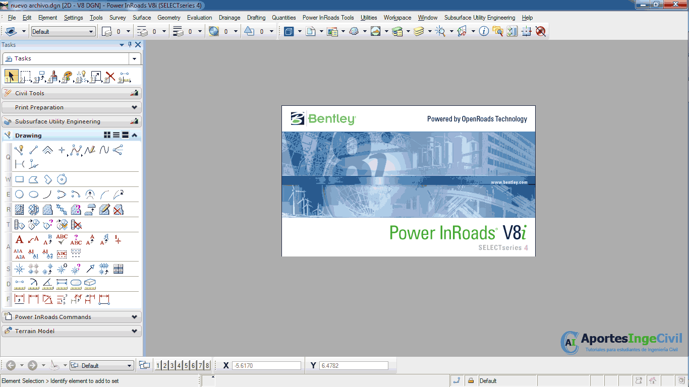 Descargar Power InRoads V8i SS4