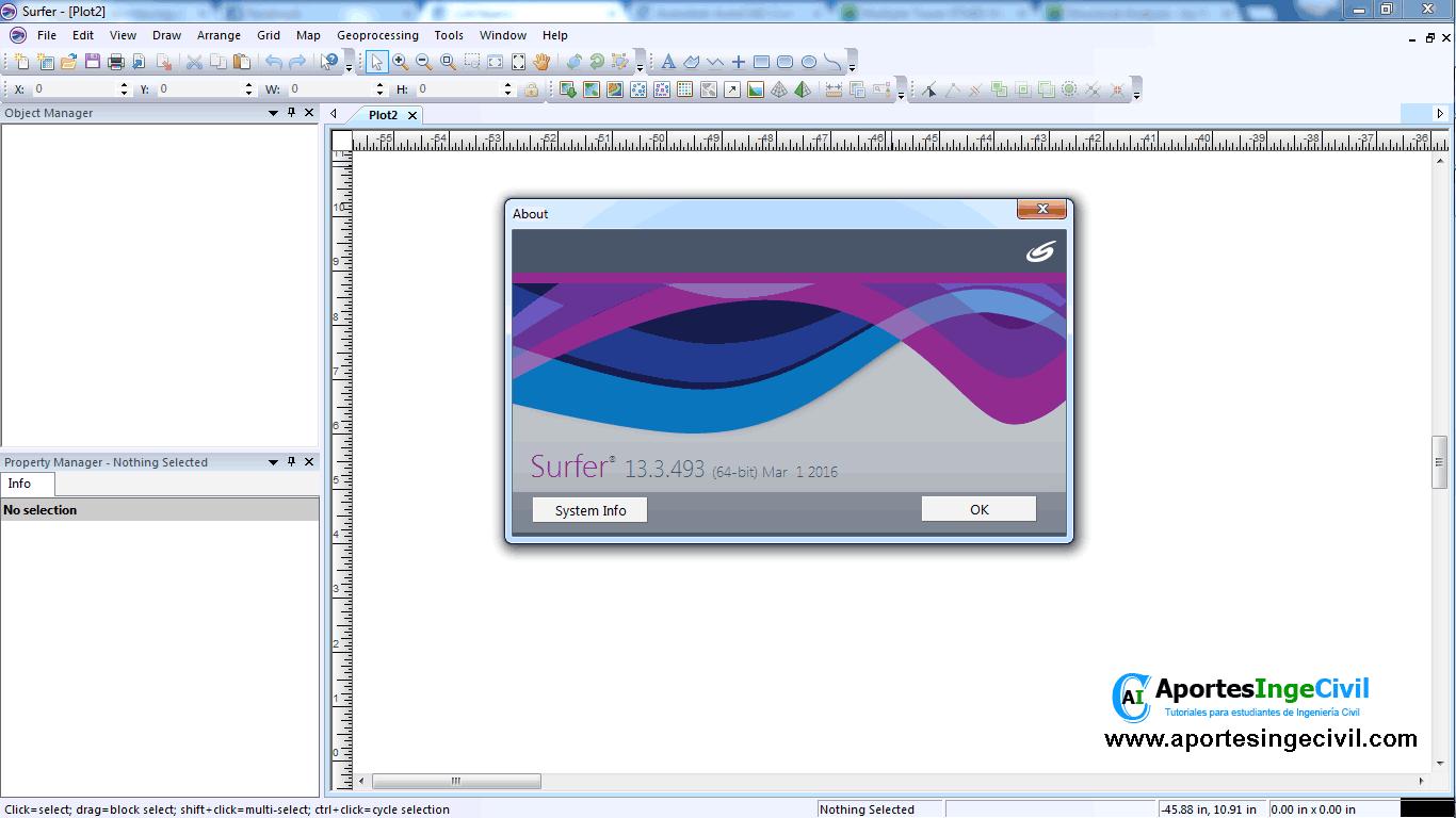 Golden Software Surver v13