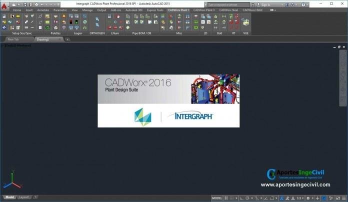 Intergraph CADWorx 2016 v16