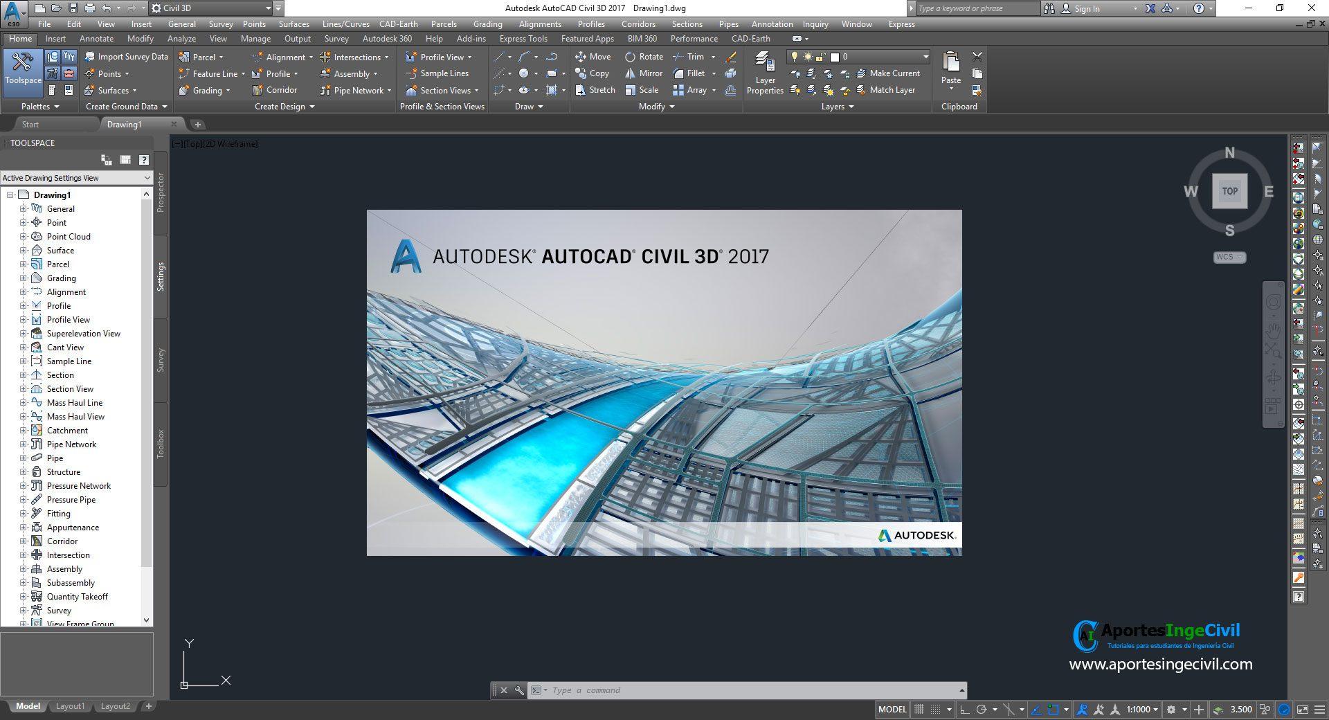 Descargar AutoCAD Civil 3D 2017