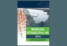 Manual de STAAD Pro v8i 2014