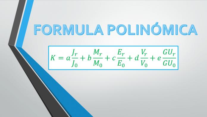 formula polinomica en costos y presupuestos