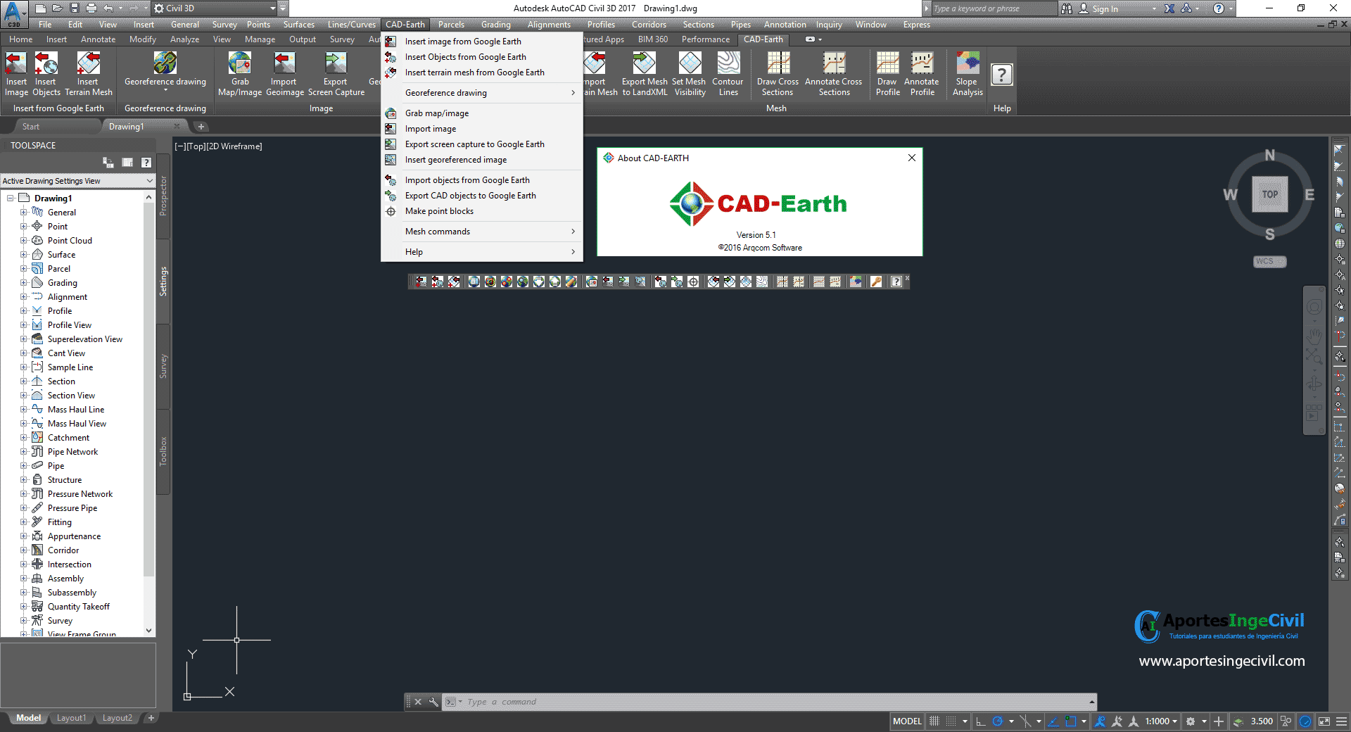 CAD-Earth v5.1.0