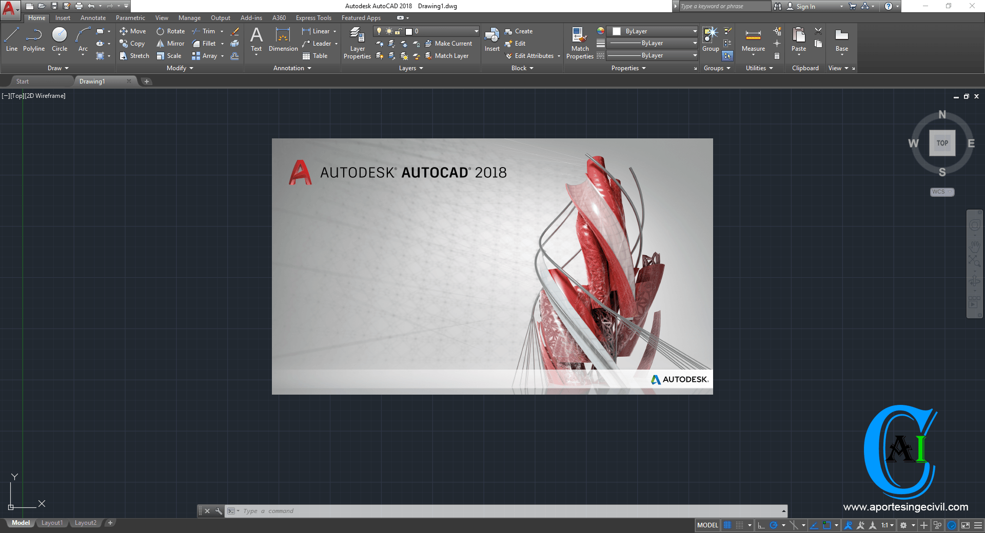 AutoCAD 2019 Full En Ingles 32 64-bits + Crack