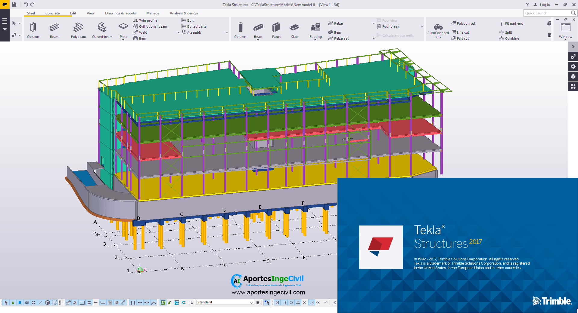 Descargar Tekla Structures 2017 SP1