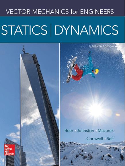 Statics and Dyanmics 11th Edition