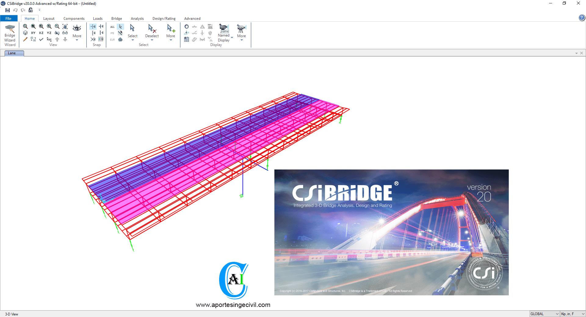 Descargar CSiBridge v20
