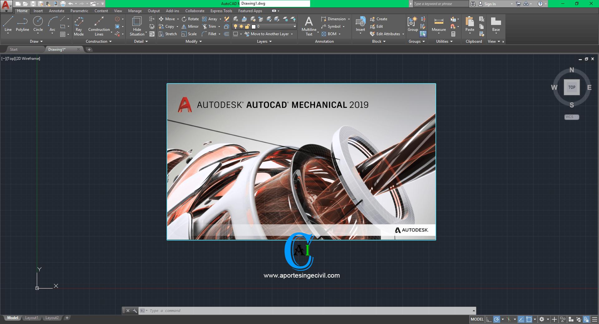 AutoCAD Mechanical 2019