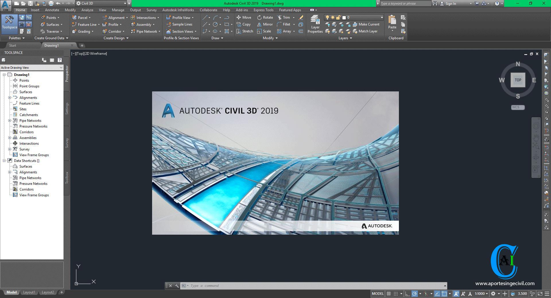 Descargar-AutoCAD-Civil-3D-2019