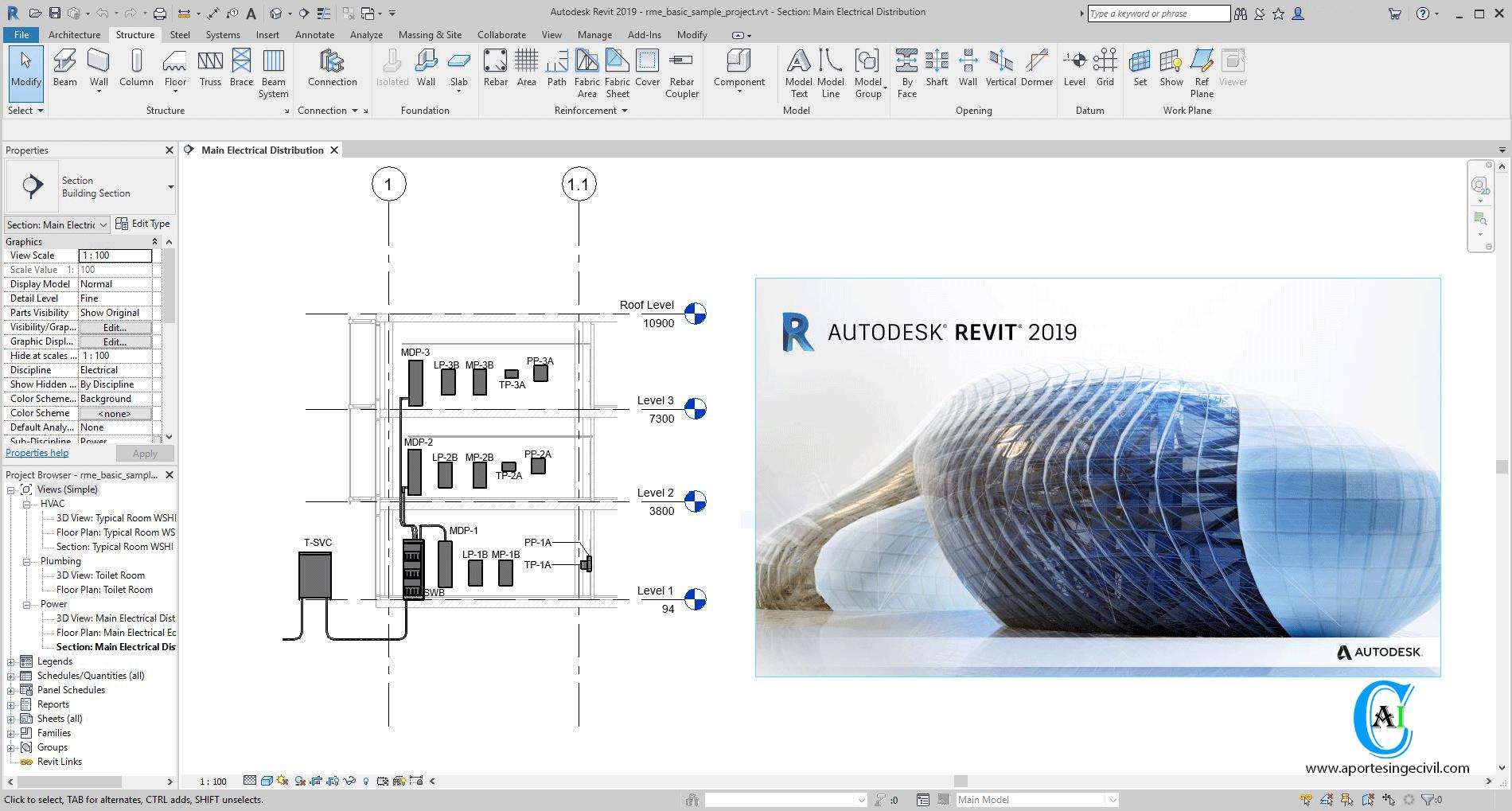 Autodesk Revit Architecture 2018 64 bit width=