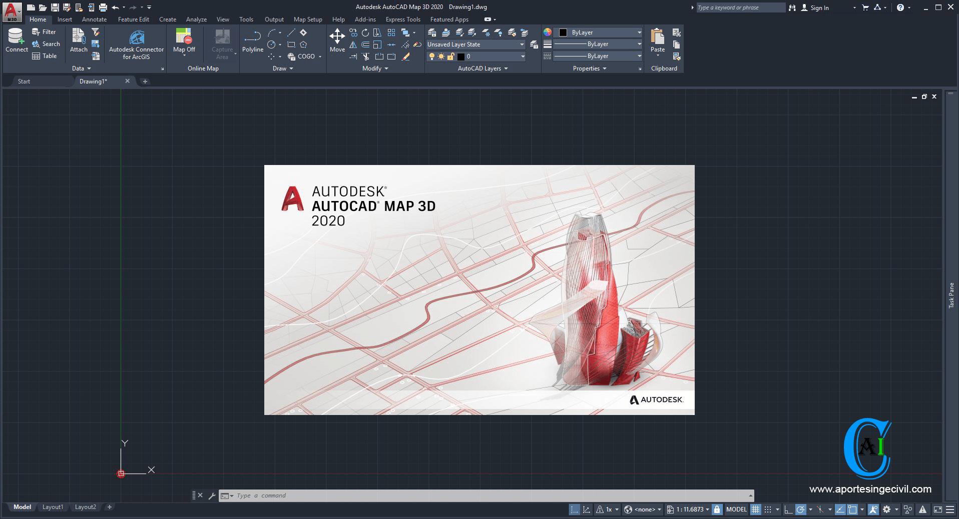 Autocad Map 3d 2020 En Español E Ingles