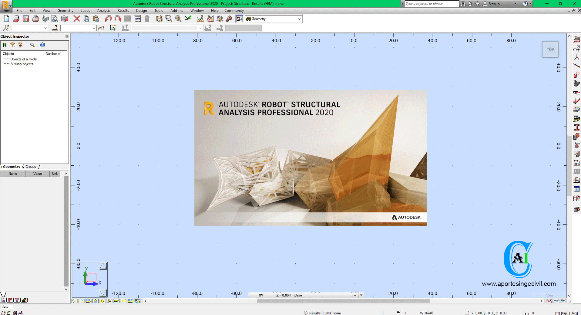 Descargar Robot Structural Analysis Professional 2020