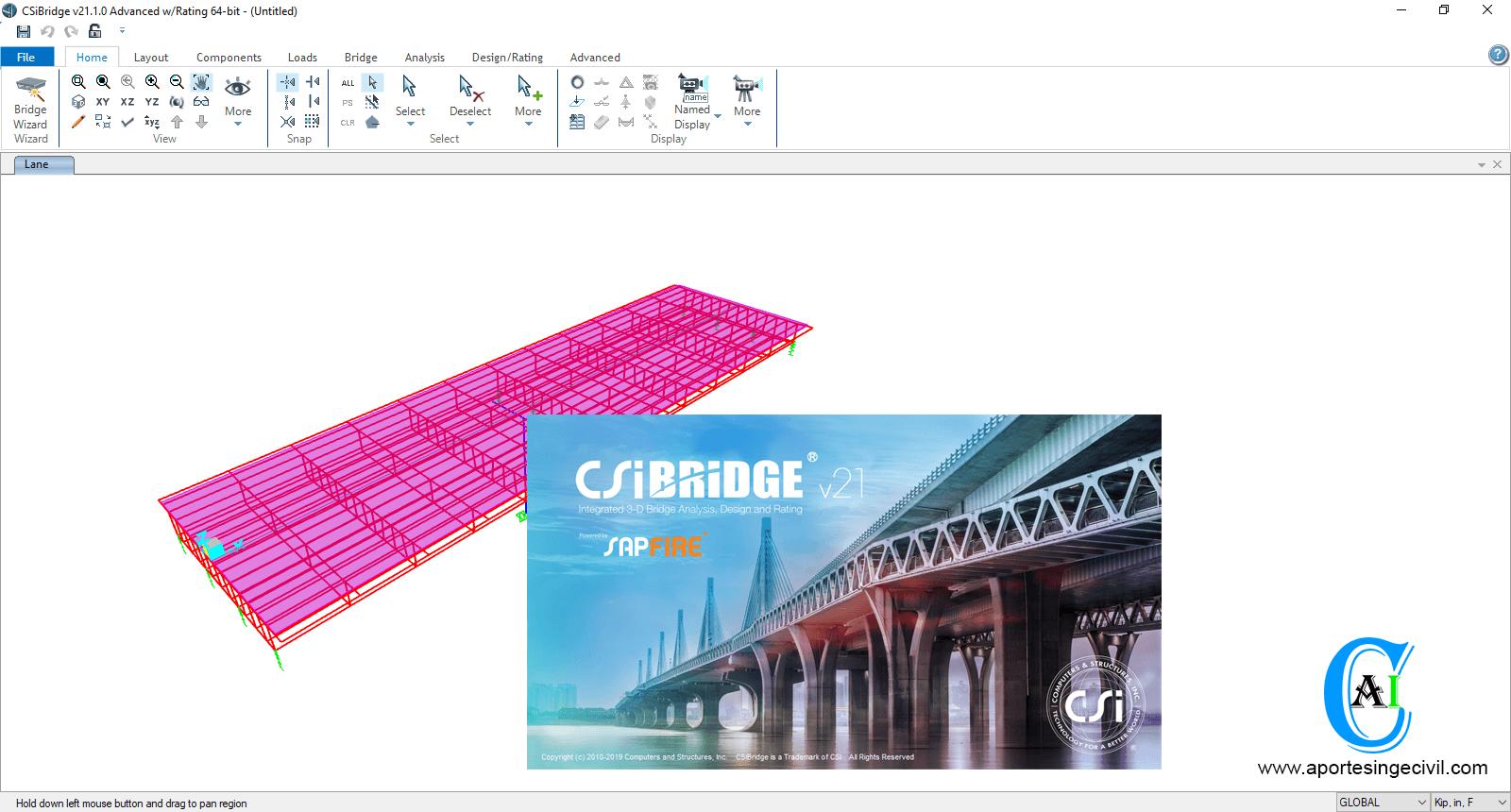 Descargar CSiBridge v21