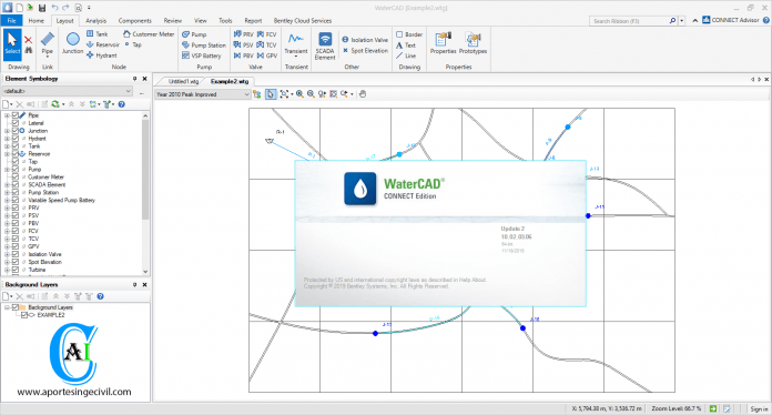 WaterCAD CONNECT Edition Update 2