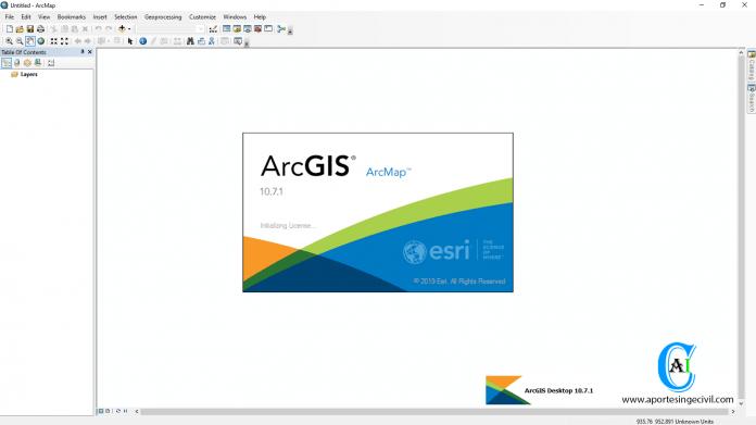 ArcGIS Desktop v10.7.1