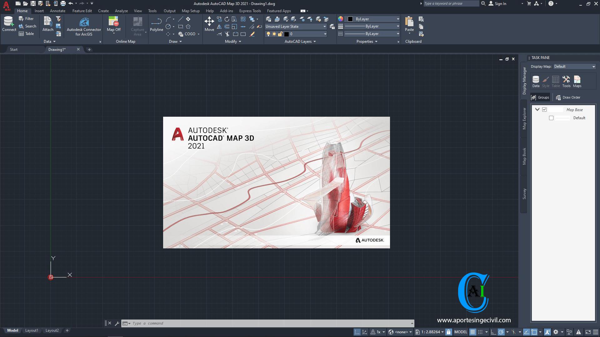 Autodesk Autocad Map 3d 2021 En Español E Ingles