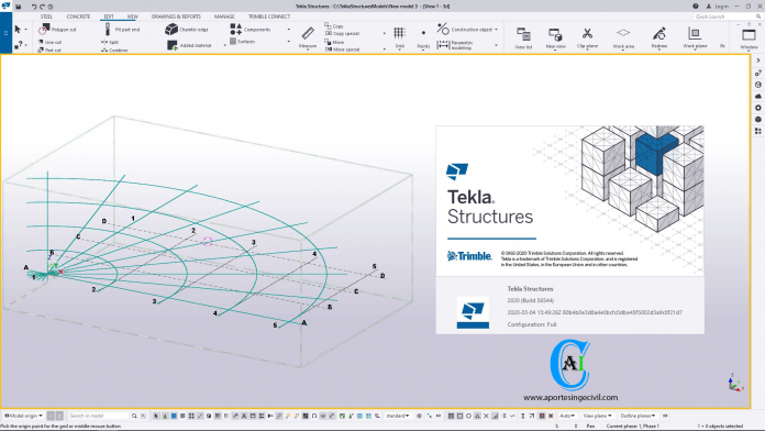 Tekla Structures 2020