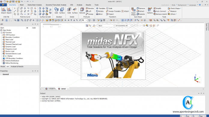 midas NFX 2020 R1