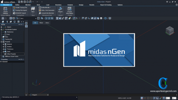 midas nGen Drawing 2019