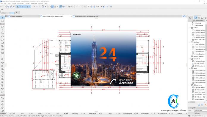 ArchiCAD 24 Build 3022