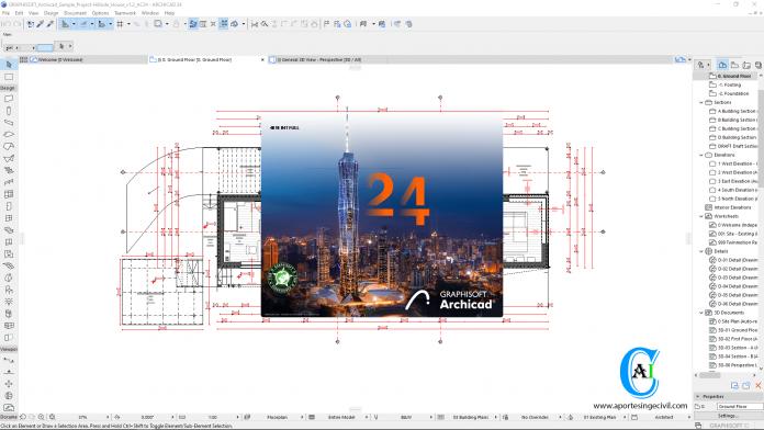 ArchiCAD 24 Build 4018
