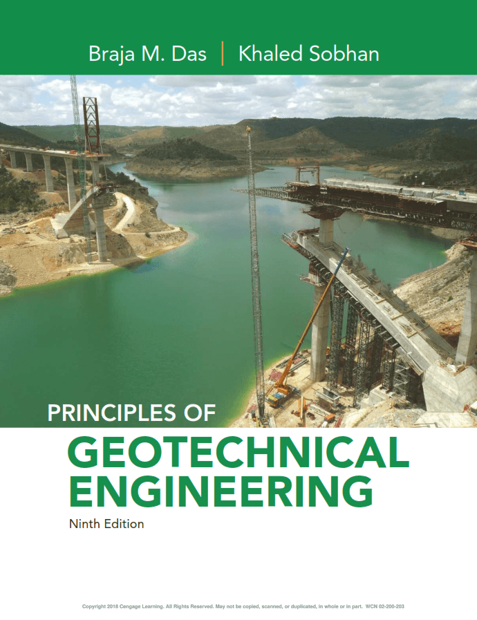 Principles of Geotechnical Engineering Ninth Edition Braja Das