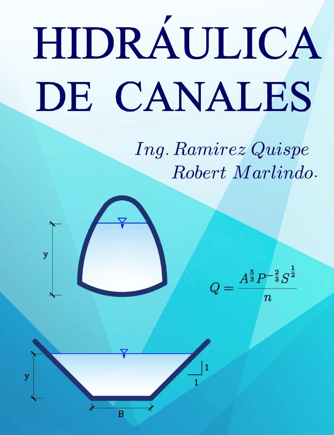 Hidraulica de Canales Robert Marlindo Ramirez Quispe