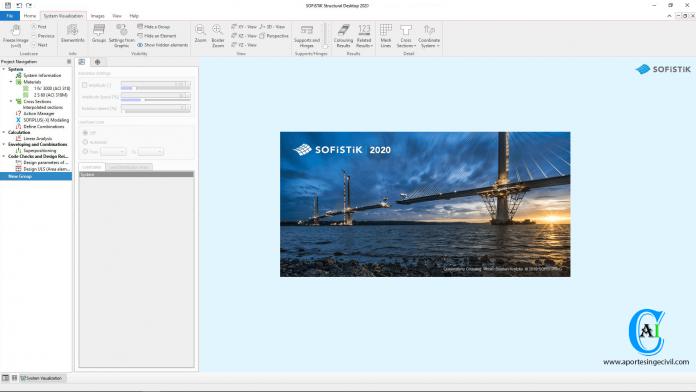 Sofistik Structural Desktop 2020