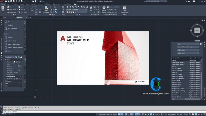 Descargar Autodesk AutoCAD MEP 2022