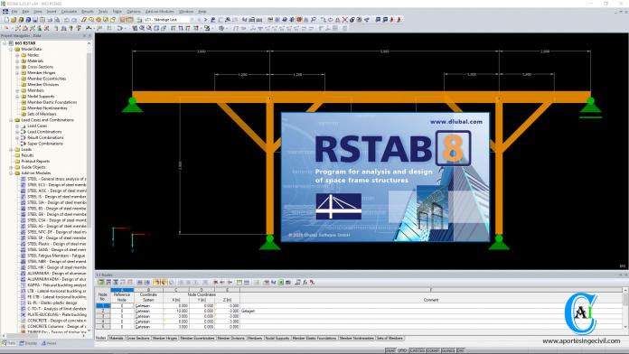 Descargar RSTAB v8.25