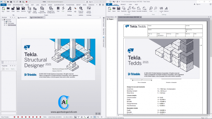 Tekla Structural Design Suite 2021