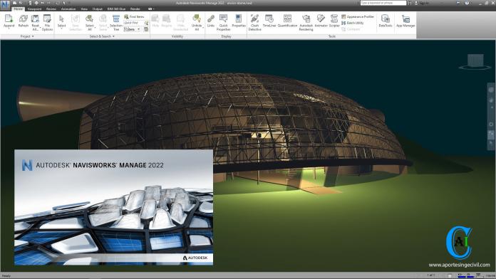 Descargar Navisworks Manage 2022