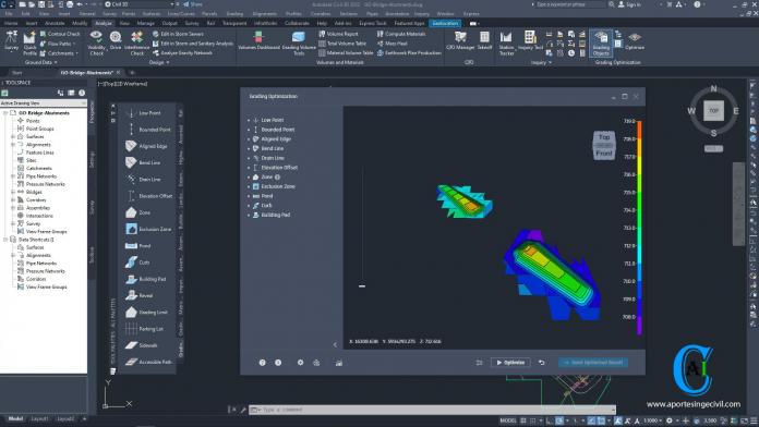 Grading Optimization for Civil 3D 2022