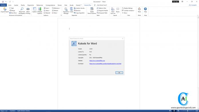 ExtendOffice Kutools para Microsoft Word